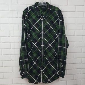 Sean John Classic Fit Plaid Button Down Shirt